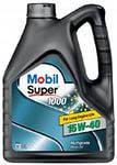 Моторне масло Mobil Super 1000 15W-40 4л