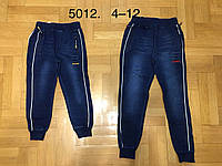 Брюки под джинс на мальчика оптом, F&D, 4-12 рр, фото 1