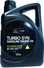 Масло моторное Hyundai Kia Mobis Turbo Syn SM 5W-30 4л