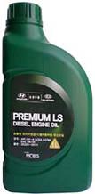 Масло моторное Hyundai Premium LS Diesel 5W30 CH-4 (1л) (MOBIS)