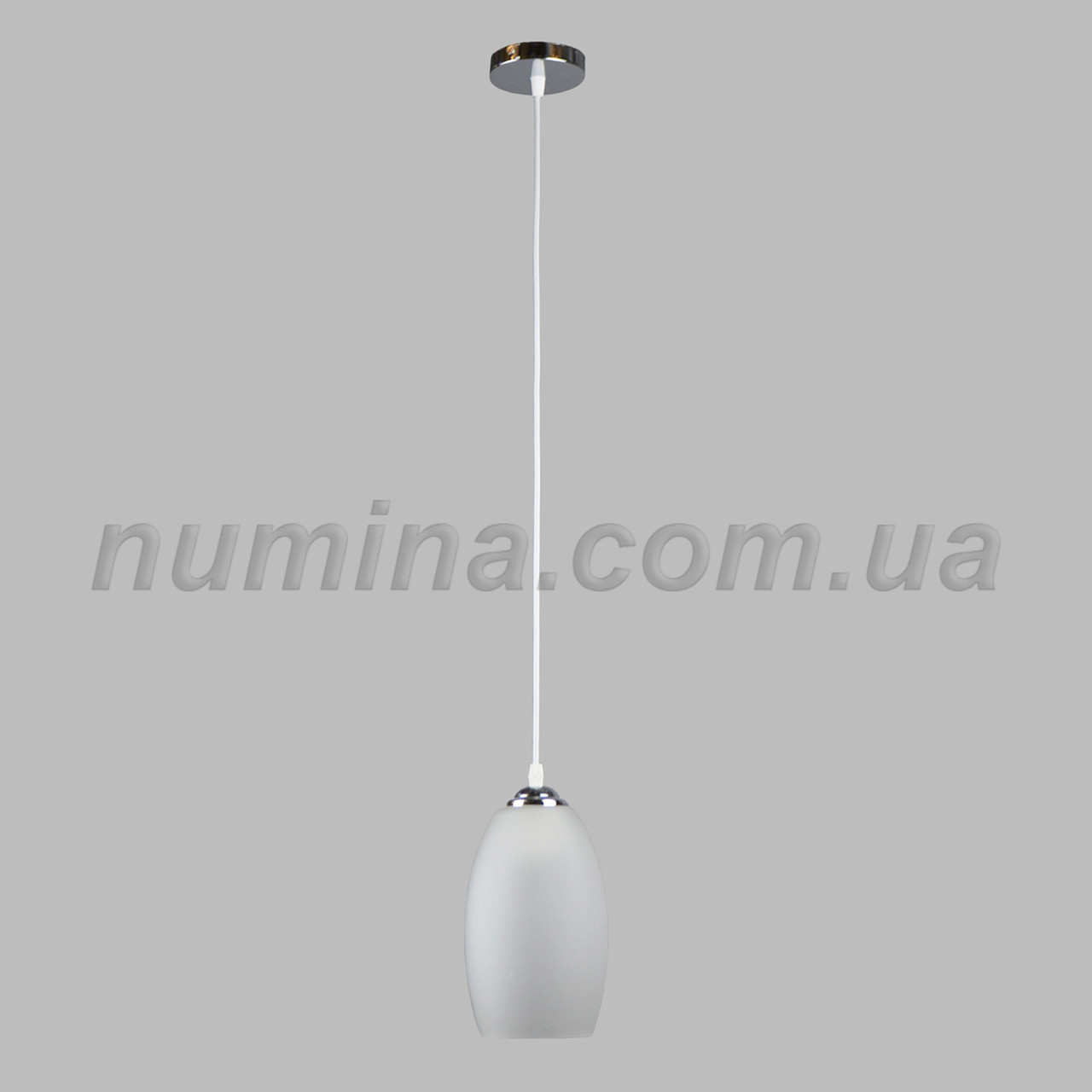 Люстра потолочная на одну лампу 29-X2752-1 CR+WT