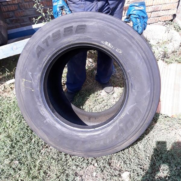 Шины б.у. 445.45.r19.5 Goodride AT556 Гудрид. Резина бу для грузовиков и автобусов