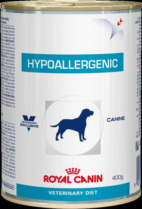Лечебный корм для собак гипоаллергенный Royal Canin HYPOALLERGENIC CANINE Cans 0,4 кг