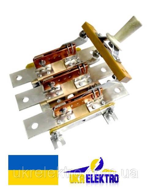 Разъединитель  РЕ19-39-311100 630А трехполюсный переднего присоединения с центральной рукояткой ис