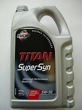 Моторное масло TITAN SUPERSYN 5W-50 5л