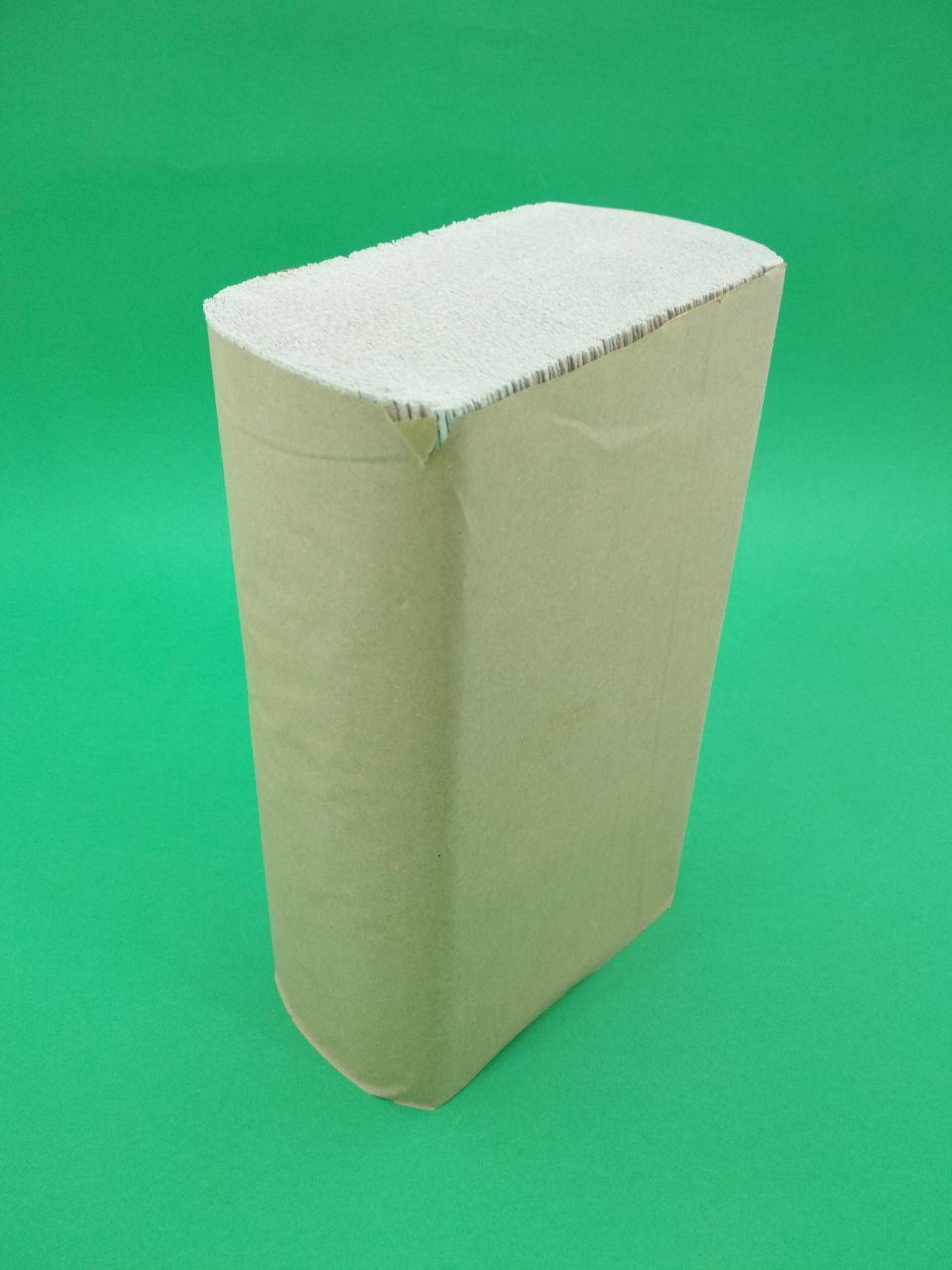 Бумажное полотенце ZZ серое(220*230) Каховинка (1 пач)