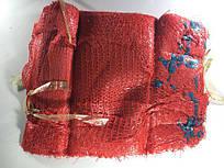 Сетка мешок для овощей на 3 кг, красная, с ручкой (р21х31), 100шт/уп