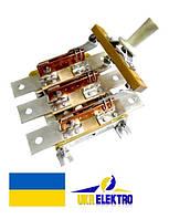 Разъединитель  РЕ19-43-311100 1600А трехполюсный переднего присоединения с центральной рукояткой ис