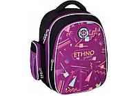 Рюкзак школьный Cool for school EVA 15 Ethno Spirit 733 Черный с фиолетовым (CF86095)