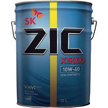 Масло моторне ZIC X5 10W-40 (Каністра 20л)