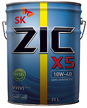 Масло моторн. ZIC X5 10W-40 Diesel (Каністра 20л)