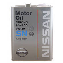 NISSAN Strong Save X 5W-30 4л