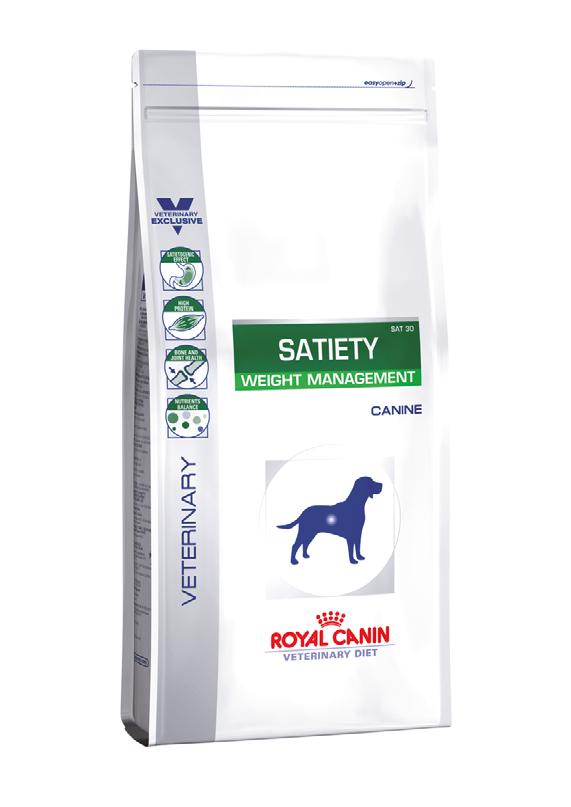 Лечебный корм для собак  при ожирении Royal Canin SATIETY WEIGHT MANAGEMENT CANINE 12 кг
