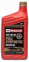 Моторное масло Ford Motorcraft Full Synthetic 5W-30 0.946 л.