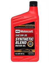 Моторное масло Ford Motorcraft Synthetic Blend 5W-30 0.946 л.