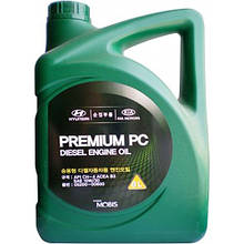 Моторное масло Hyundai Kia Mobis Premium PC Diesel 10W-30 6 л