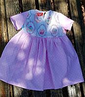 Детское платье пироженка розовые комбинированое