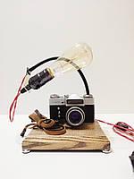 Настільна лампа Pride&Joy з вінтажним фотоаппаратом