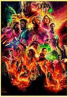 Постер с супергероями!