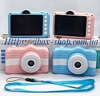"""Детский цифровой фотоаппарат Smart Kids Cam TOY 6 Blue Full HD 3.5"""""""