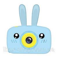 Детский цифровой фотоаппарат Smart Kids Cam TOY 9 Rabbit Blue Full HD