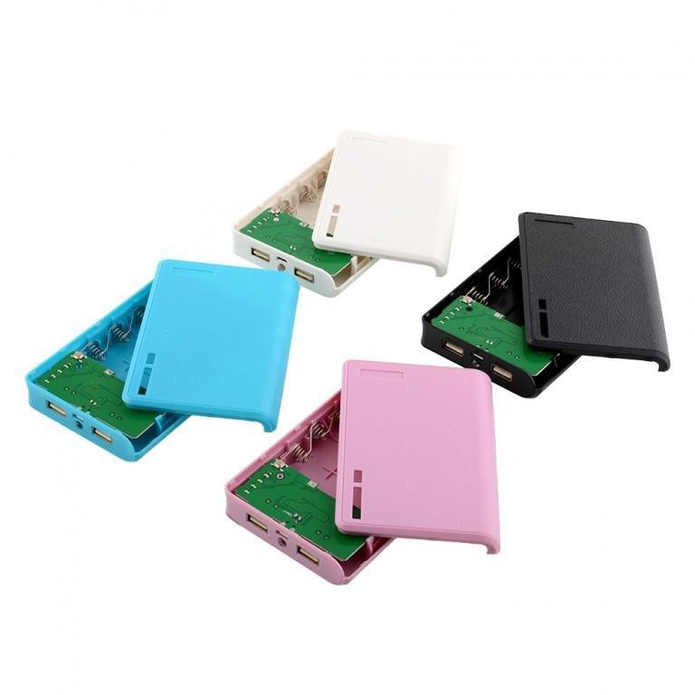 Повербанк пластиковий (без акумуляторів 18650 х 4 шт)