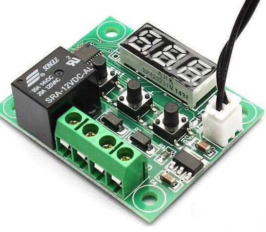 Цифровий термостат W1209