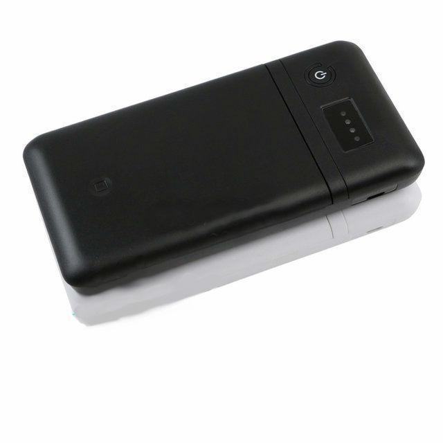Повербанк пластиковий, 4-12в (без акумуляторів 18650 х 6 шт)