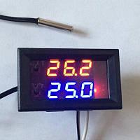 Цифровий компактний термостат, 12В