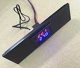 Цифровий компактний термостат, 12В, фото 2