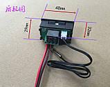 Цифровий компактний термостат, 12В, фото 3