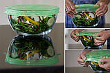 Силіконові кришки для посуд (набір 6 шт), фото 8