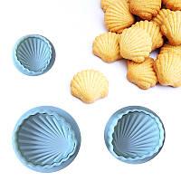 Набір плунжеров для пісочного тіста або мастики, фото 1