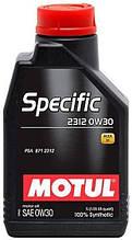 Motul SPECIFIC 2312 0W-30 1л