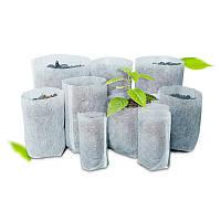 Мішечки для розсади тканинні 100 шт, різні розміри