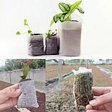 Мішечки для розсади тканинні, різні розміри, фото 6