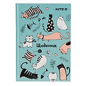 Дневник школьный Kite Funny Cats твердая обложка