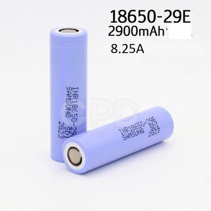 Акумулятори Samsung INR18650-29E - 2900 мАг / 8,25 А