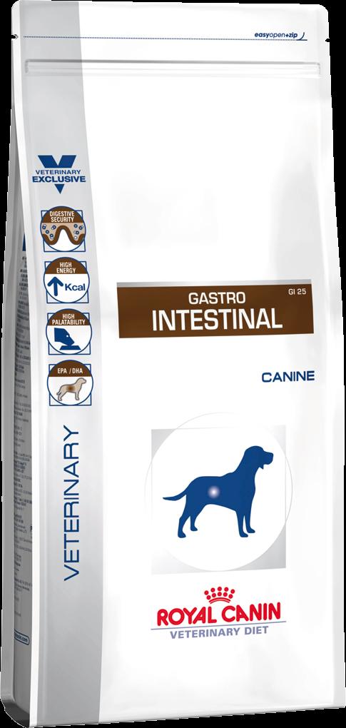 Лечебный корм для собак с нарушением пищеварения Royal Canin GASTRO INTESTINAL CANINE 14 кг