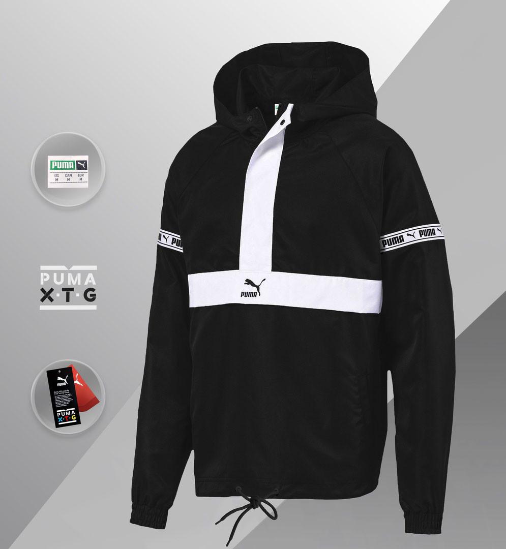Мужская куртка Puma XTG Savannah (ориг.бирка) черный/белый