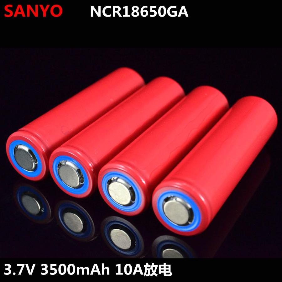 Акумулятор SANYO NCR 18650GA 3500 мА 10 A