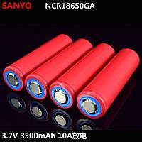 Акумулятор SANYO NCR 18650GA 3500 мА 10 A, фото 1