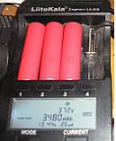 Акумулятор SANYO NCR 18650GA 3500 мА 10 A, фото 5