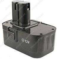 Аккумулятор для шуруповерта 12 В 1.3 Ач Ni-Cd прямой