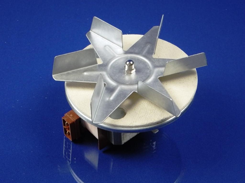 Вентилятор обдува духовки универсальный, высота вала H=28 мм.