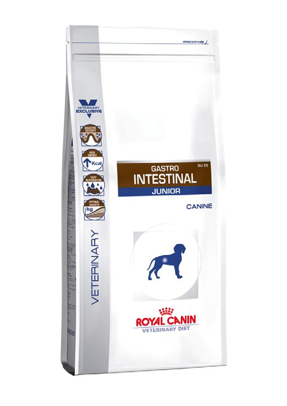Лечебный корм для щенков с нарушением пищеварения Royal Canin GASTRO INTESTINAL JUNIOR CANINE 10 кг