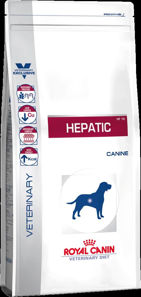Лечебный корм для собак для здоровья печени Royal Canin HEPATIC CANINE 12 кг
