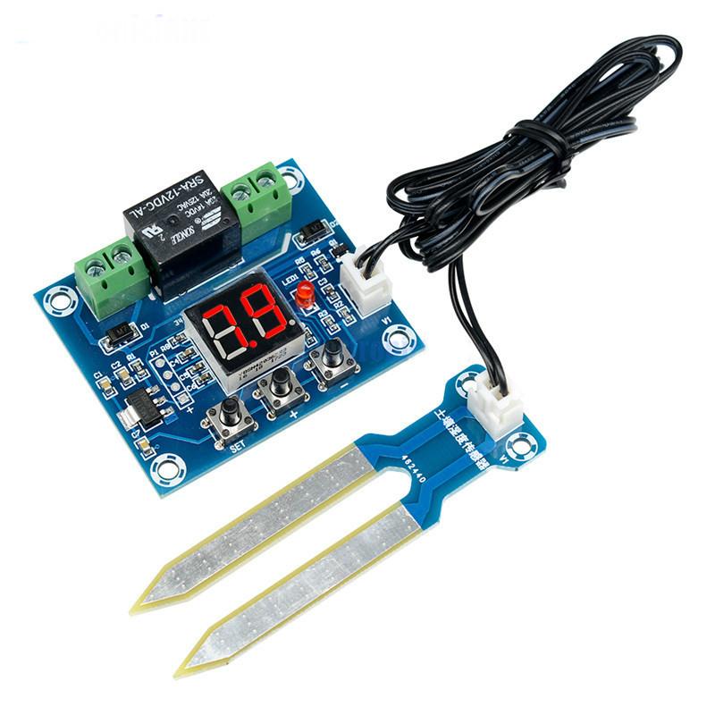 Модуль контролю вологості грунту XH-M214 з датчиком