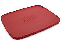 Доска разделочная пластиковая Joseph Joseph 34,7*27*1,5 см красная 80077