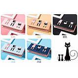 Кошелек Три котенка, кошелек с котом,  расцветки, фото 2